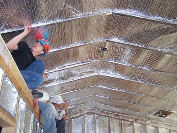 Concrete Floor Insulation Reflective Paint