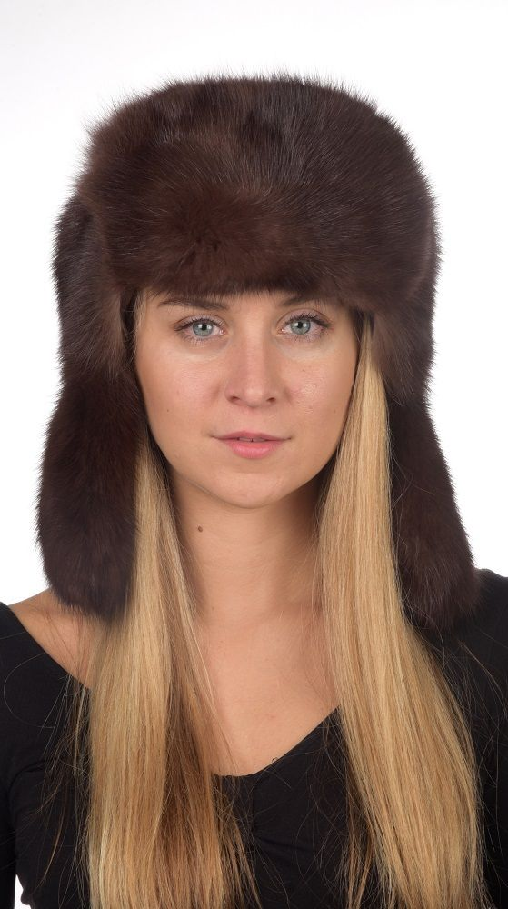 Pregiato cappello in zibellino naturale in stile Russo, unisex. Confezionato artigianalmente in Italia dai migliori designer di pellicceria  www.amifur.it
