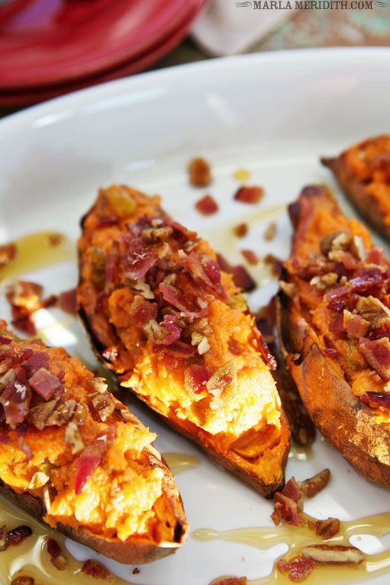 Cinnamon Chipotle Twice-Baked Sweet Potatoes | A GREAT #Thanksgiving ...