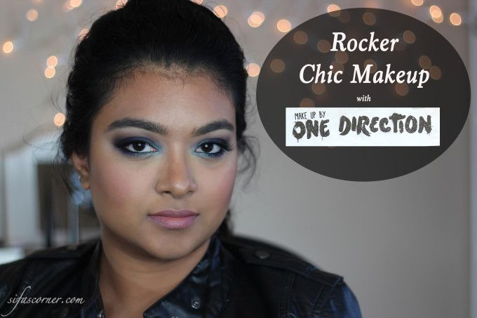 Tutorial- Rocker Chic Makeup with Makeup by One Direction