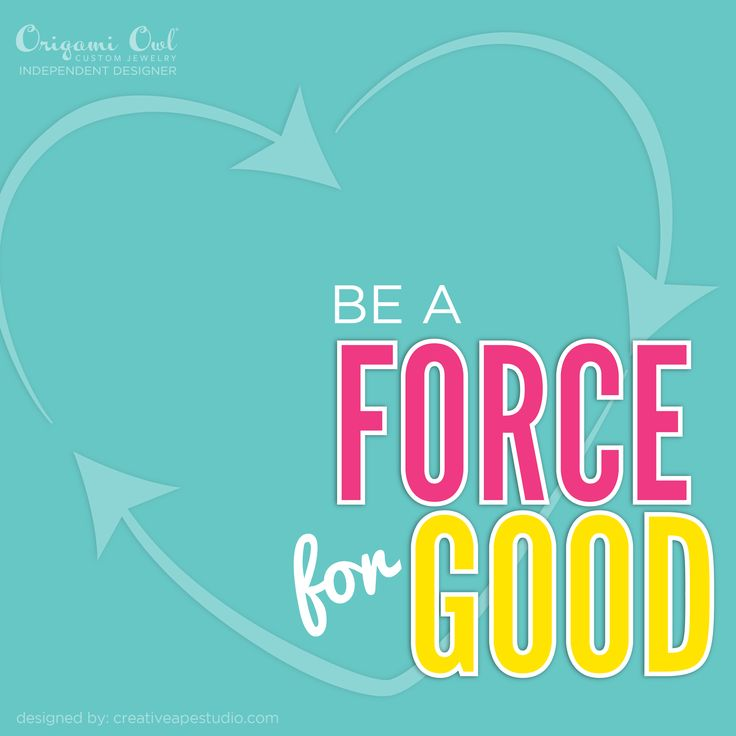 Force For Good - Origami Owl® Contact me today for information on how our fundraisers work! www.susiesuther.origamiowl.com
