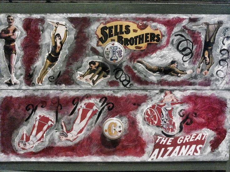 Drawers circus. By Alessandro Mandanici