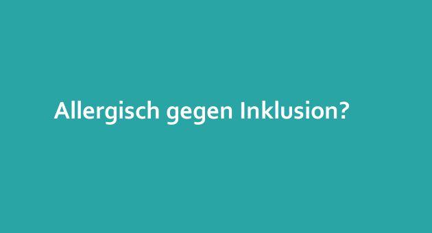 Allergisch gegen Inklusion? Bürgermeister einer Berliner Randgemeinde kündigt wiederholt Kita-Platz wegen einer Erdnussallergie... I >> Mehr dazu auf unserer Seite...