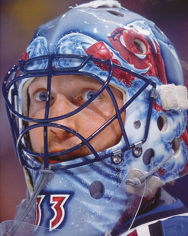 The best goaltender to ever play the game & my hero: Patrick Roy