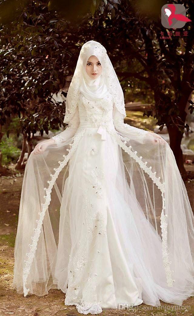 Model Baju Pengantin Muslimah 2020