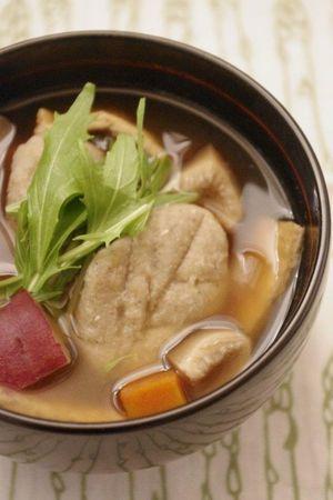 簡単もちもち食感♪ダイエット中にもウレシい「そばがき」のススメ ... 楽天レシピ そばがき汁 by karenbooさん