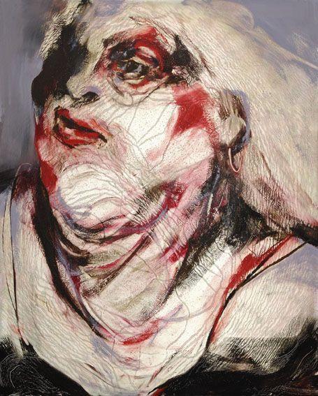 Lita Cabellut (リタ・)  1961年にスペインのバルセロナ (Barcelona) で生まれた。  画家。   バルセロナの今でも古い町並みが残っているにラバル地区 (El Raval) の貧しいジプシーの環境――ボケリア市場 (La Bocquer...