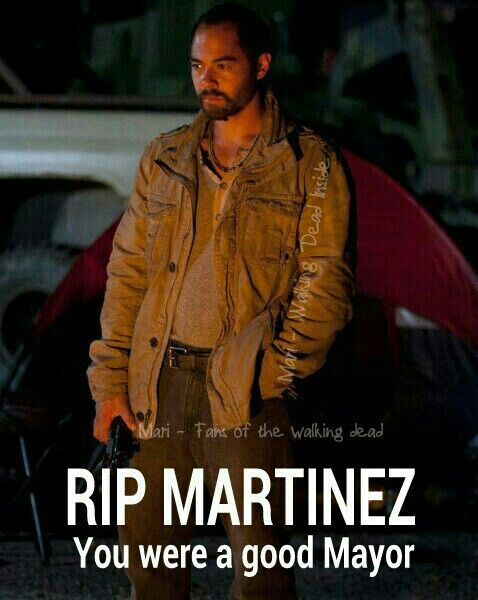 The Walking Dead, The Governor, Martinez