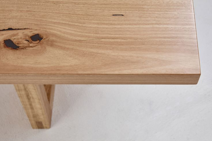 Loughlin Furniture Darlinghurst Table Blackbutt Timber