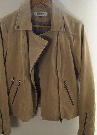 Kaufe meinen Artikel bei #Kleiderkreisel http://www.kleiderkreisel.de/damenmode/lederjacken/138014553-wildlederjacke-von-only-beige-40m-kleine-mangel-sonst-top-zustand-echt-leder-ubergangsjacke