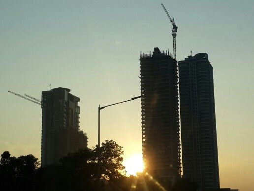 Skyscraper's #Sunrise