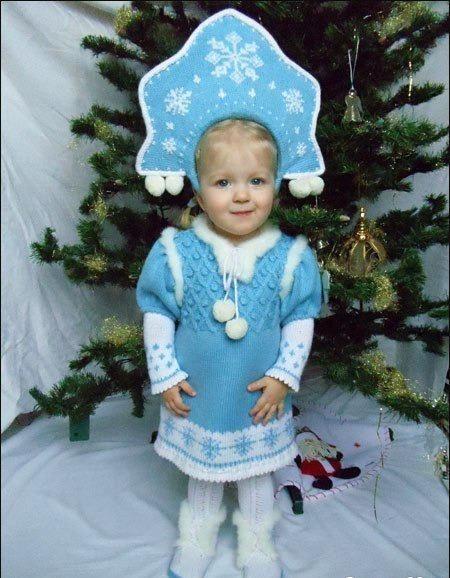 Вязание детям костюмов на новый год