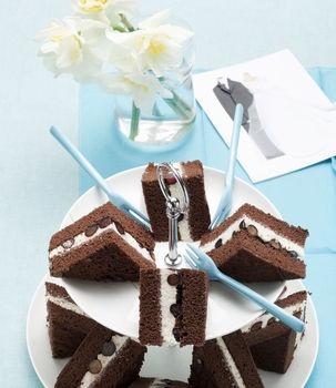 Tramezzini con gelato e gocce di cioccolato: per merenda o come dessert