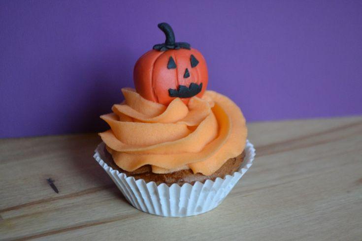 Cupcake Citrouille Halloween