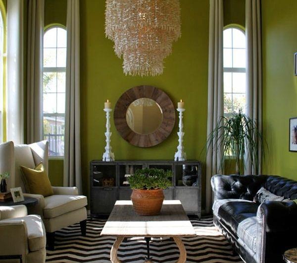 die besten 25+ runde spiegel ideen auf pinterest | flur spiegel ... - Wohnzimmer Spiegel Modern
