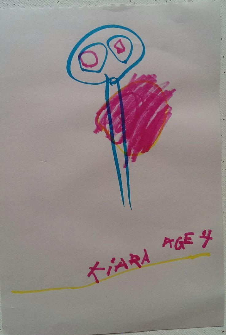 Lady Artist: Kiara, Age 4