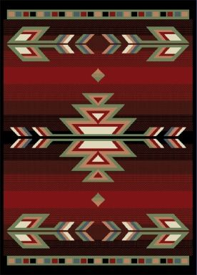 to be honest, what i really want is a southwestern rug for the dining room....
