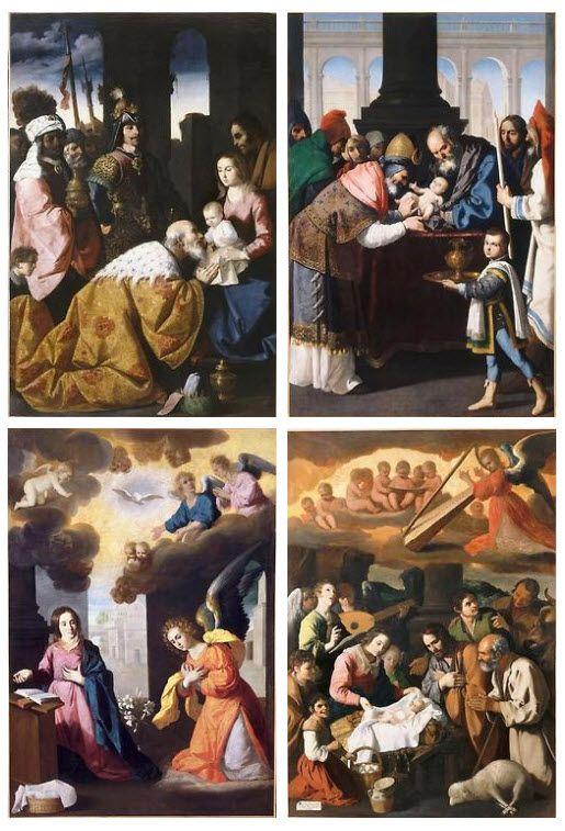 the importance of francisco de zurbarans painting the annunciation Artwork by francisco de zurbaran - the annunciation, (1650) | painting | oil on canvas | artstack - art online.