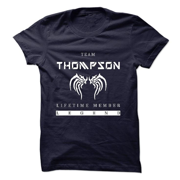 TEAM THOMPSON LIFETIME MEMBER LEGEND 2015 DESIGN