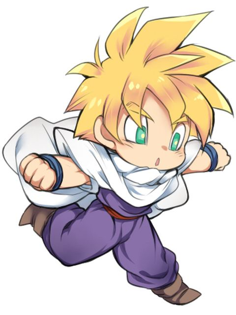 How To Draw Chibi Goku Ssj