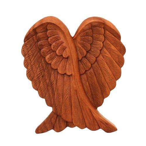 Murale Ali di angelo ali di un Angeli da legno come Gioielli da parete