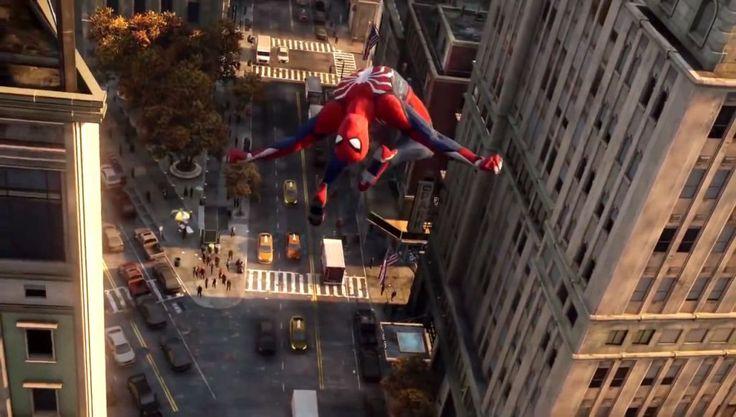 Spiderman Game Trailer, Spider-Man, spiderman, 2016, trailer, movie, film, game…