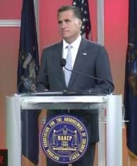 AAReports: Romney's speech to NAACP draws boos from audience: Drawing Boos, Naacp Drawing