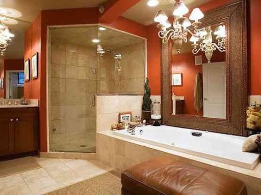 17 Best Images About Bathroom In Orange Color On Pinterest