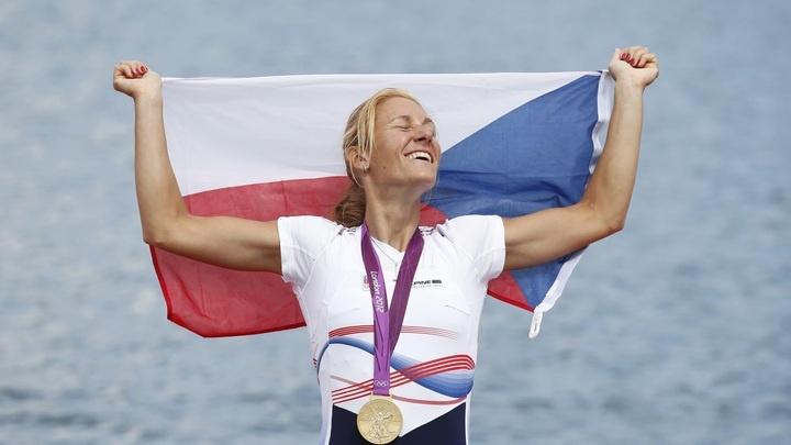 Miroslava Knapková - zlato pro ČR. Gold medal for Czech Republic :o)