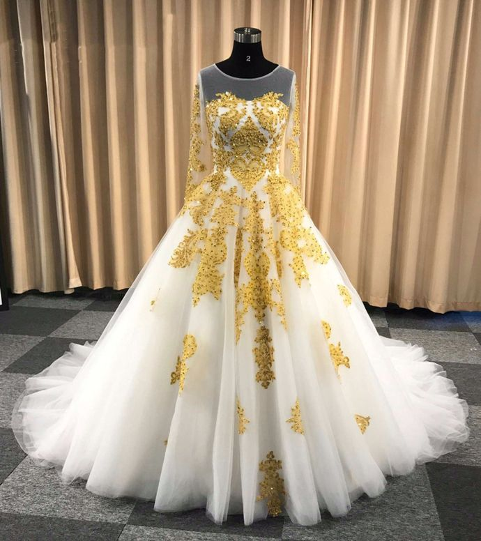 25+ White and gold long dress ideas