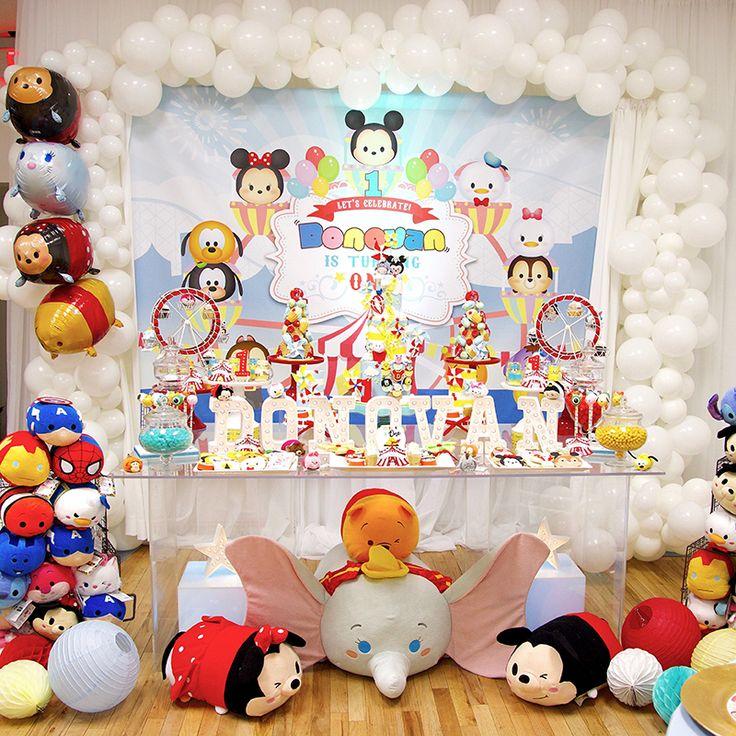 Dinsey Tsum Tsum Birthday Party!