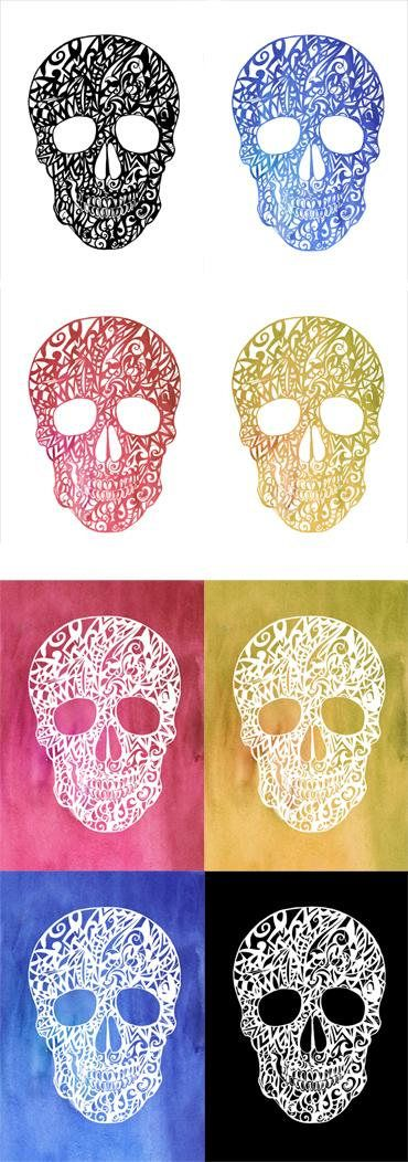 Sugar Skull Svg Halloween Zentangle Clip Art Cut file Gifts Decor Digital Printable Zendoodle Clipart Doodle Instant Download Hand Drawn This is a listing for hand drawn clipart of Sugar scull . ----------------------------------------------------------------------------------- -Included in this pack:  high quality 300 dpi apx. 8 x 11 (2500x3500 px) - the perfect resolution for most printers  8 color images JPG.format as seen in the photo (handmade with hand painted watercolor and hand drawn…