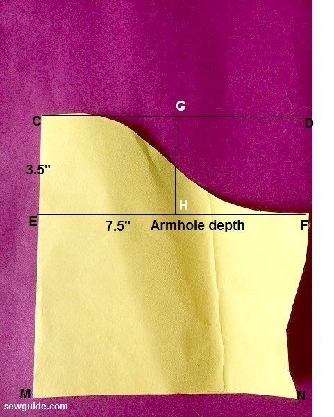 Learn how to draft a Ragalan Sleeve Pattern and join this to a bodice