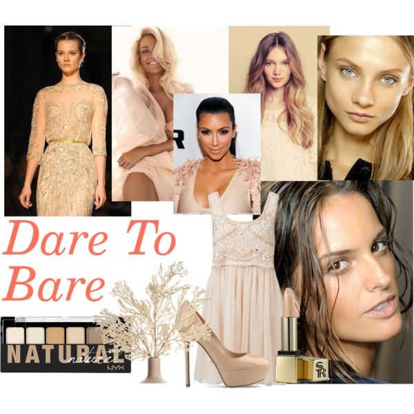 Dare To Bare. Nude beauty looks