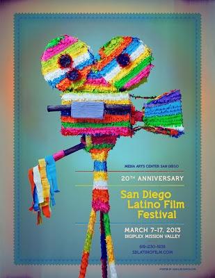 San Diego Latino Film Festival #film #poster #art #design
