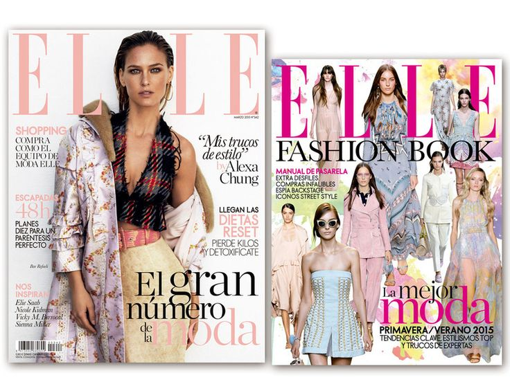 ELLE marzo, fashion book Bar Refaeli