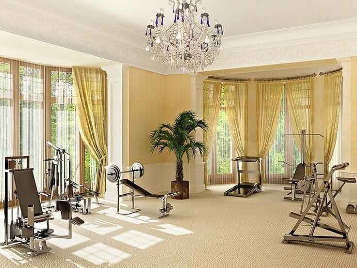 Modern Home Gym Design Ideas 1 824×618