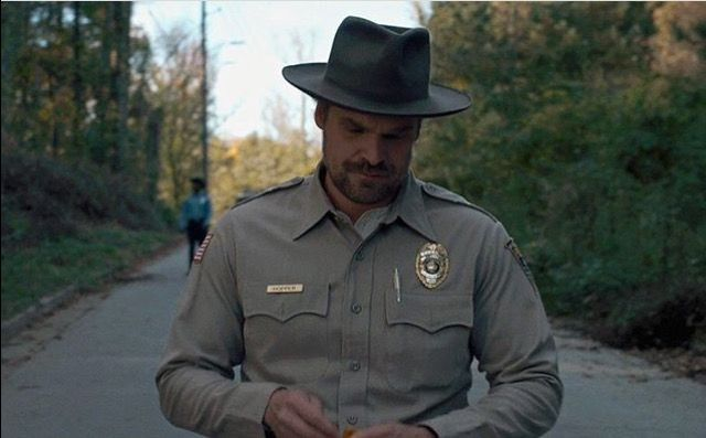 Chief Jim Hopper is great!!