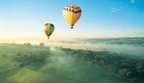 York: Hot air ballooning