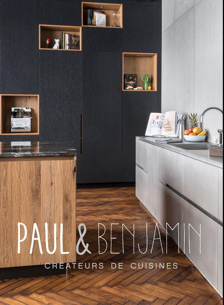 11 best Carrelage Paul  Benjamin images on Pinterest Bastille - cuisine verte et blanche