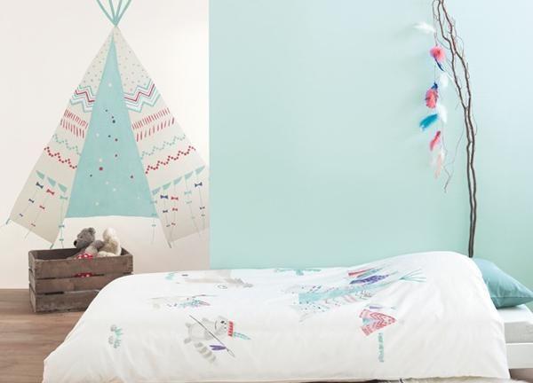Casadeco y su dulce colecci n arc en ciel papel pintado - Papel pintado para bebe ...