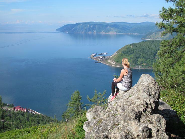Tiara reisspecialist Lotte bij het #Baikalmeer #Rusland #natuur