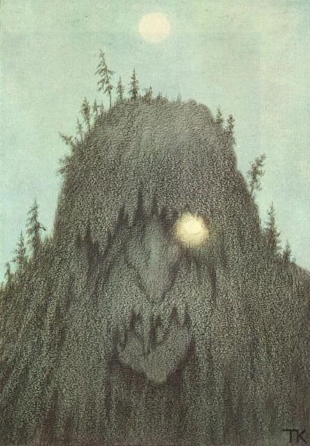 All sizes | Theodor Kittelsen - Skogtroll | Flickr - Photo Sharing!