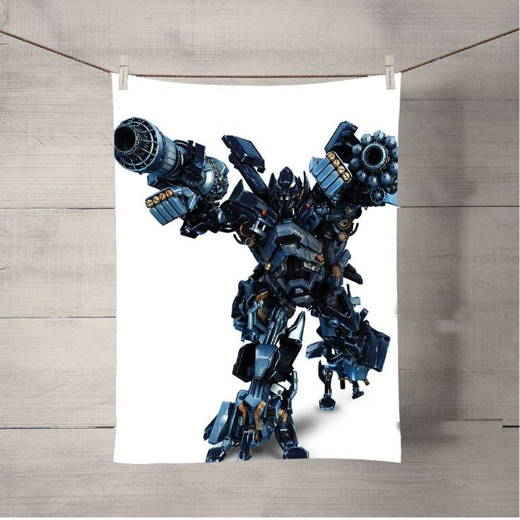 Transformers Ironhide Strike Bath Towel Beach Towels