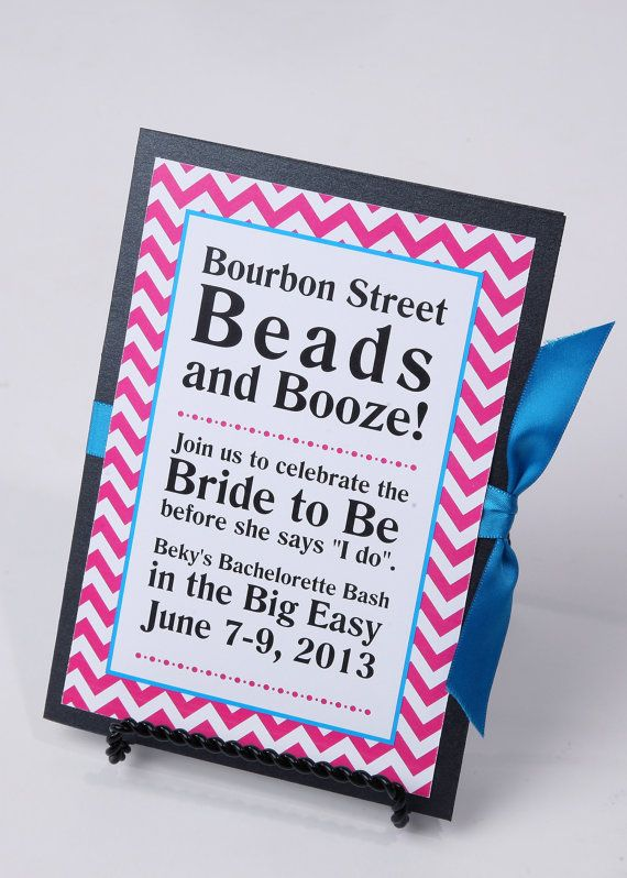 Girls Weekend / Bachelorette Party Invitation by ImpressPapers, $70.00