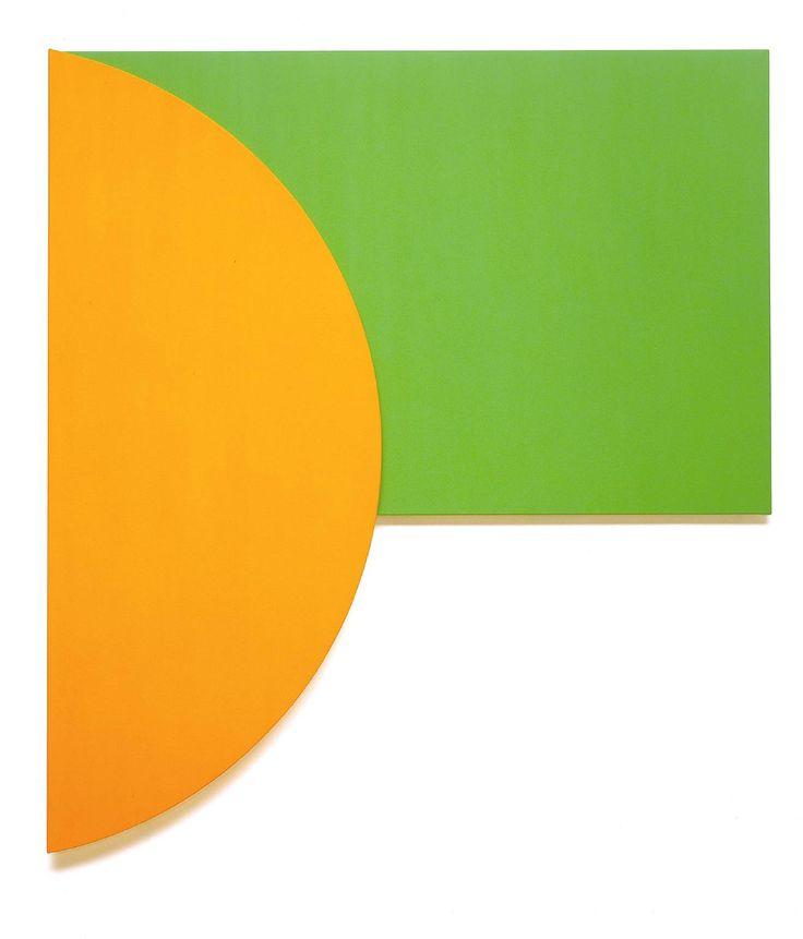 ellsworth kelly | Ellsworth Kelly, 'Orange Relief with Green' 1991