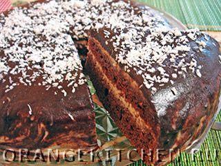 Вегетарианский рецепт шоколадного торта без яиц