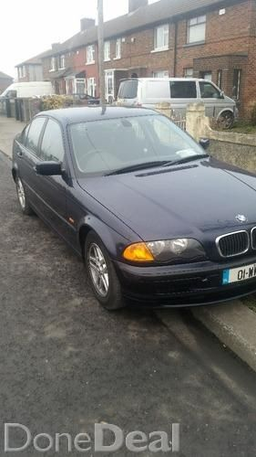 Bmw 320d tax and nct.
