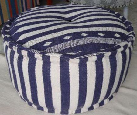 Round #pouf Ottoman