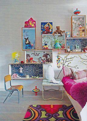 Idées Cadres papier peint  En mood wanted : du papier peint vintage Via Moody's Home